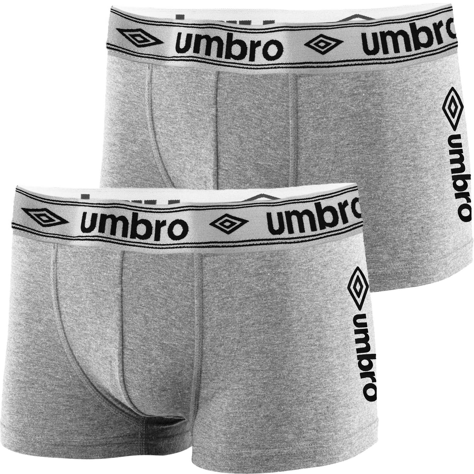 2 Pack Mens Umbro Designer Boxers Shorts Underwear Trunks Multipack Set New